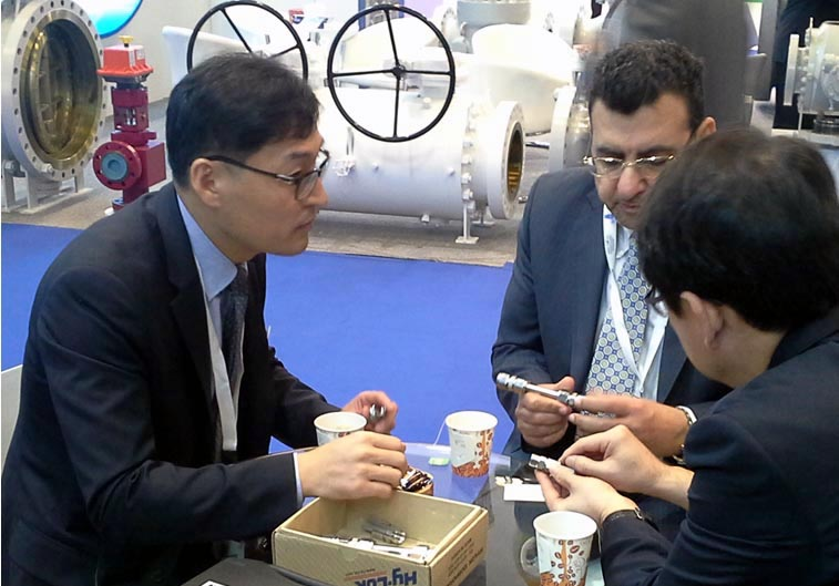 제17회 ADIPEC 2014 (Abu Dhabi International Petroleum Exhibition & Conference) 전시회 참가 완료 이미지1